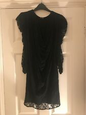 TFNC Cowl Neck Lace Dress Size Small