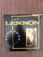 John Lennon - Borrowed Time - POSPX 701 - vinyl 12 - uk Poster