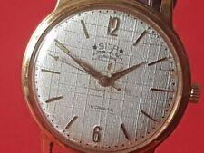 Ultra flache Herren Armbanduhr Sita Handaufzug um 1950!!!