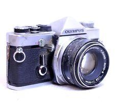 OLYMPUS OM-1 SLR Camera With Olympus 50mm f/1.8 OM Mount Lens  - B12
