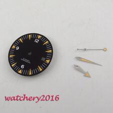 31Mm Sapphire Crystal Date Window Watch Dial + Hands For eta 2824 2836 Movement