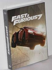 FAST & FURIOUS 7 - FullSlip STEELBOOK unnumbered LE1000 Filmarena NEU & OVP