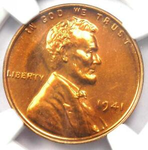 1941 Proof Lincoln Wheat Cent Penny 1C - NGC PR67 RD (PF67) - $12,500 Value!