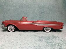 New ListingVintage 1959 Edsel Corsair Convertible Promo Friction Car with Metal Chassis