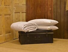 Pure Wool Natural Pillow with 100% Cotton Cover