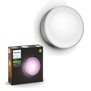 Philips Hue - Daylo Wall Light Hue Outdoor - Inox - White & Color Ambiance
