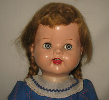 "1950's Ideal Doll 22"" Hard Plastic Saucy Walker Doll With Flirty Eyes  MR30"