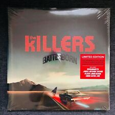 The Killers - Battle Born - Limited double RED vinyl - Sealed + Poster and book
