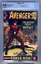 Avengers #21 CBCS 6.0 Kirby, Wood, Heck, Origin & 1st Power Man, Enchantress
