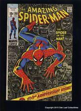 Amazing Spiderman 100 Marvel Comic Book 1971 Fine Anniversary issue!