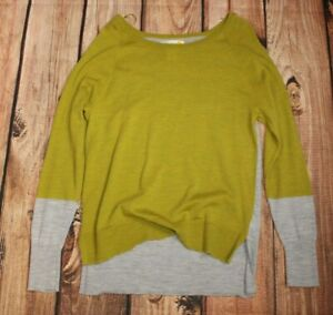 C&C California Ladies Sweater Jumper Round Neck 100% Merino Wool XL