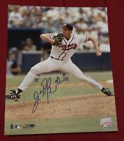 JOHN ROCKER AUTHENTIC Signed Autographed BRAVES MLB BASEBALL 8x10 PHOTO PSA JSA