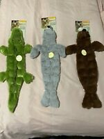 Ethical Pet Skinneeez Tons-O-Squeakers Walrus - Seal - Aligator - Dog Toy New