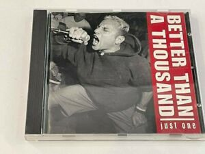 Better Than A Thousand - Just One CD Album - 1997 Revelation Records - USA Punk