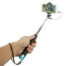 Wire Foldable Mini Extendable Selfie Stick For Huawei P10 Plus Honor Nova P10 P9