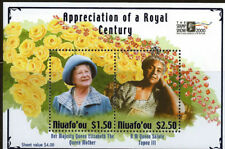 Tonga Niuafo'ou 2000 The Royal Century 2 Stamp Souvenir Sheet 20M-027