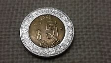 Messico  5 pesos 2001