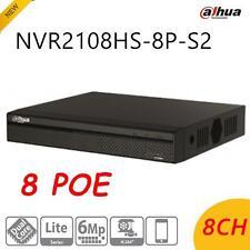 Dahua NVR2108HS-8P-S2 8CH 8 PoE Lite Network Video Recorder NVR  Upgradable