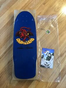 Powell Peralta Steve Caballero SIGNED Dragon Reissue Deck hawk McGill Mountain