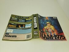 OFFICIAL SNK NEO GEO AES NAM 1975  PAPER INSERT ONLY (NO GAME ,BOX ,MANUAL) E33