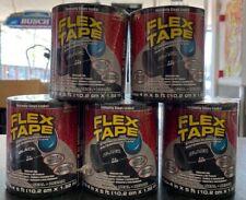 Flex Seal Strong Rubberized Waterproof Flex Tape 4 X 5 Black 5 Pack