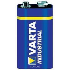 6 x Varta Industrial Batterien 9V Block 6LR61 E-Block Varta 4022