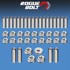 SBF OIL PAN STUD KIT BOLTS STAINLESS STEEL SMALL BLOCK FORD 289 302 351W 5.0L