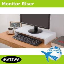 Desktop Monitor Riser Computer Laptop Stand Ergonomic Mount by MATZWA (3 Colors)