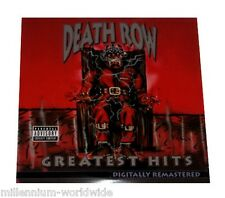 "DEATH ROW GREATEST HITS - 4X 12"" VINYL LP - SEALED & MINT RECORD ALBUM"