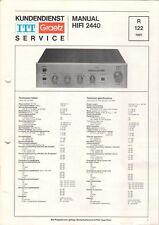 ITT GRAETZ - HIFI 2440 - Service Manual Schaltplan - B6506