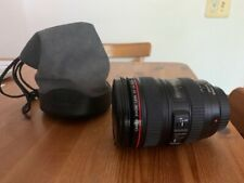Canon EF 24-105mm f/4 IS L USM Lens Used excellent condition