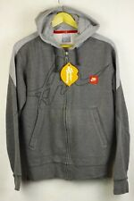 VINTAGE RARE Mens NIKE Hoodie URBAN AIR SPORT Hooded ZIPPER Sweater Medium P36