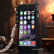 Luxury Aluminum Metal Button Hard Cleave Frame Bumper Case Cover For iPhone 6