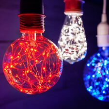 LED Fairy Light Bulb Multiple Color Home Patio Garden Globe Party Lamp Bulbs