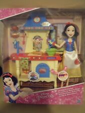 BNIB Disney Princess Snow White Stir n Bake Kitchen - Doll & Accessories