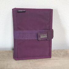 Mead Five Star Day Planner Vintage Personal Organizer Purple 7 12 X 55