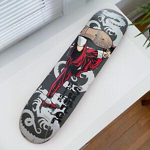 VTG Birdhouse Skateboards Brian Sumner Skateboard Deck 7.25 Karate Kung Fu *RARE