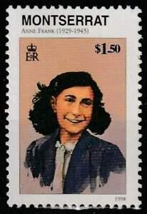 Montserrat postfris 1998 MNH - Anne Frank (K246)