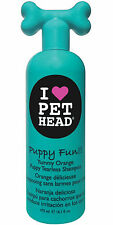 Pet Head Chiot Amusant Chien Shampooing 475ml Tearless Orange