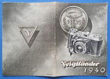 LIBRETTO  VOIGTLÄNDER 1940