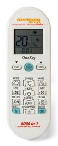 Universal Fernbedienung für Klimaanlage Superior AirCo 6000in1