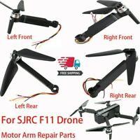 For SJRC F11 Drone Body Frame Assembly Motor Arm Repair Parts,