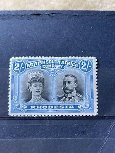 RHODESIA - BRITISH SOUTH AFRICA COMPANY SG 153