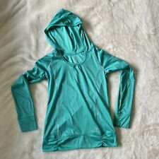 Old Navy Active Youth Girls Teal Hoodie Medium 8