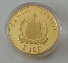 1981 Western Samoa 100 Tala  ~22 Carat Gold Proof Wedding of HRH Prince Charles~