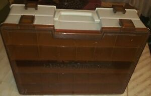 Vintage Flambeau Adventurer Double Sided Circa 1980's Rare Tackle Box