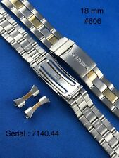CERTINA Stainless Steel Wristwatch Metal Band Strap Bracelet 18mm (7140.44) #606