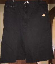 Akademiks Mens Jeans Shoert Size 38 Black