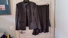 Rene Lezard Black/White Suit - Size M