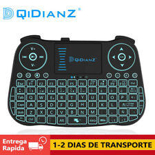 DQiDianZ 2.4G Mini Teclado Inalambrico retroiluminado Para Android Smart TV BOX